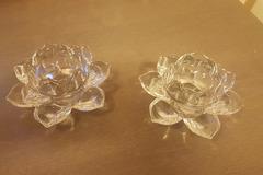 Ilmoitus: partyliten  kaksi kukka tuikkukippoa
