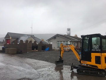 Daily Equipment Rental: JCB 19-c with driver