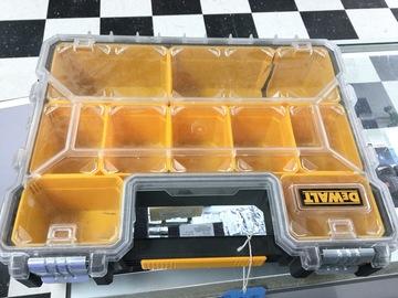 Selling: Used Dewalt parts storage box.