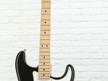Renting out: American Standard Stratocaster - Black with Maple Fretboard