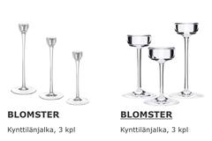 Ostetaan: Ostetaan Ikean Blomster kynttilänjalkoja järkihintaan
