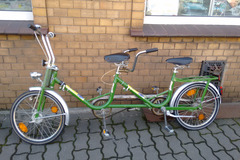 Tandemverleih: Oldi-Minirad-o. DDR Oldtimer Tandem