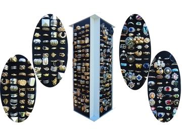 Buy Now: 288--Ladies COCKTAIL rings $5760.00 retail-- $1.50pcs!