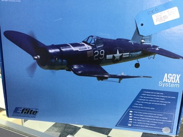 Selling: Used UMX F-4U Corsair RTF