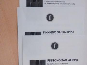 Myydään: Finnkino Movie Vouchers