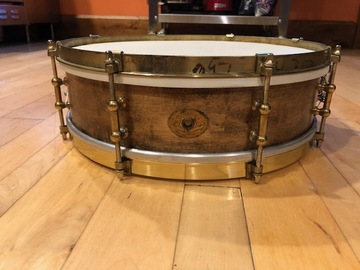 VIP Members' Sales Only: 1920s Ludwig and Ludwig wood snare