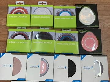 Buy Now: 100 X  MIX different wireless fast charger pads