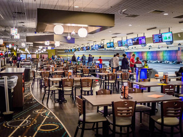 Request To Book & Pay In-Person (hourly/per party package pricing): All-Inclusive Bowling Party (For 10-30 People)