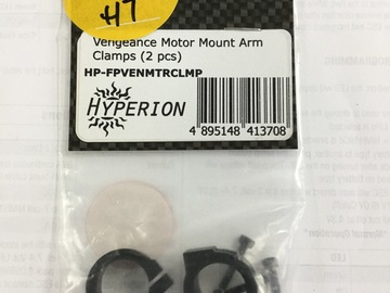 Selling: Hyperion Vengeance motor mount arm clamps