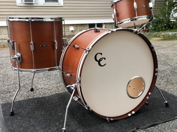 Selling with online payment or cash/check/money order/cash app/Venmo: C&C Drum Set 24,13,16