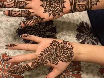 Book & Pay Online (hourly rental): Henna Tattoo