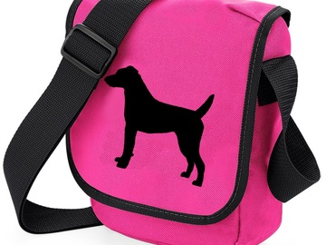Selling: Patterdale Terrier Bag, Smooth Coated Dog Body Shape on Bags