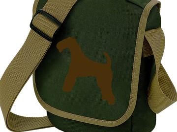 Selling: Airedale Terrier Bag Dog Walkers Shoulder Bags Airedale Gift