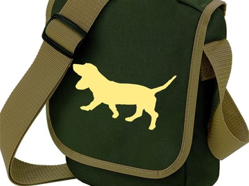 Selling: Basset Hound Bag Shoulder Bag for Dog Walker Basset Gift