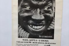 "Selling with online payment: Elvin Jones' Poster #87, Down Under, Cleveland 14×8.5"", $60."