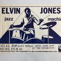 Selling with online payment: Elvin Jones's Poster #82, Social RM, New York, 17″ x13″
