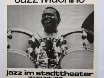 """Selling with online payment: Poster# 73, Jazz Im Stadttheater, Germany, 1983, 23″ x 16"""""""