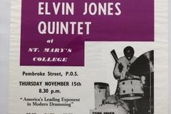 Selling with online payment: Elvin Jones's Poster #55, St. Mary's,  Trinidad, 22″ x 17""