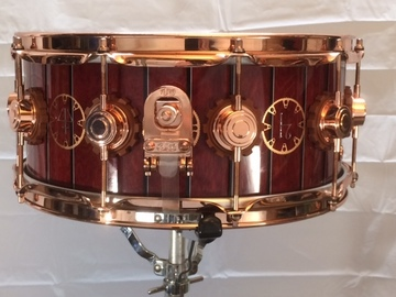 """SOLD!: SOLD! DW Neal Peart """"Time Machine"""" Maple Snare Drum"""