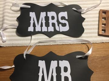 Ilmoitus: MR ja MRS kyltit