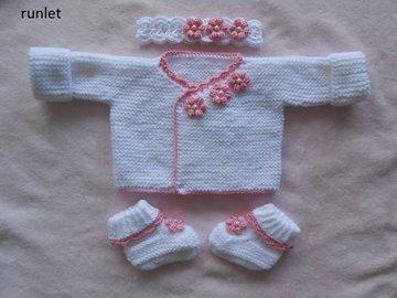 Vente au détail: ensemble naissance,brassière bébé,ensemble bebe fille,vêteme