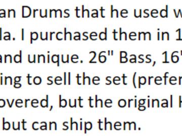 SOLD!: Hayman Drum Set - Best Offer