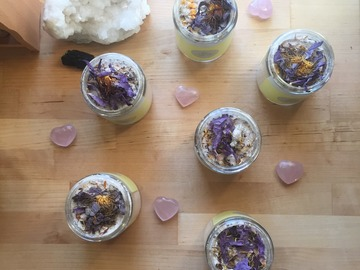 Selling with online payment: Goddess Rituals Collection ~ Milky Way Bathing Soak