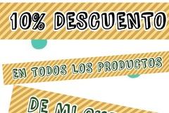 Venta: OFERTA! 10%DESCUENTO en todo SOLO HOY 8 NOVIEMBRE