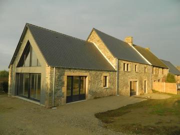 Location par mois: Maison F3 - Le Rozel (150m²)