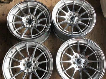 Selling: (6) 5x112 18x9 ET35 JNC Wheels