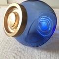 Ilmoitus: Siniset lasipurkit