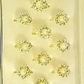 Buy Now: (1920)CZ & Pearl Royal Design Rings-160 FREE DISPLAY BOX