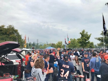 Paid Events: Soldier Field for the Bears vs Vikings night game!