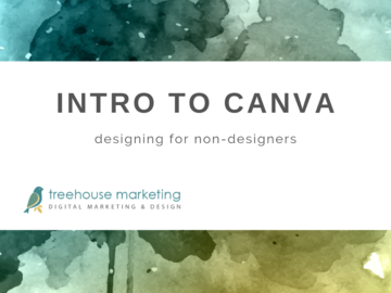 Coaching Session: Intro to Canva: Design for Non-Designers