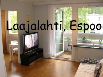 Annetaan vuokralle: Cozy,bright & spacious, furnished studio ~10 min from Aalto