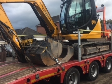 Daily Equipment Rental: JCB 8085 8T Excavator with Tilt Rotator - Operated