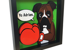 Selling: Boxer 3D Pop Art Rocky Balboa
