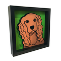 Selling: Cocker Spaniel 3D Art