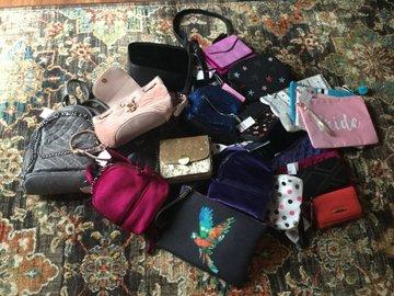 Liquidation Lot: New Designer Handbags 30 Units Retail Over $2,000