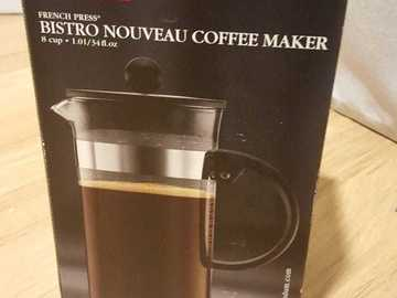 Myydään: Bodum French Press