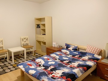 Renting out: Renting out a full furnished two-room apartment