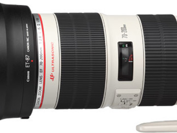 Vermieten: CANON EF 70-200mm f/2.8 L II USM Zoom-Objektiv