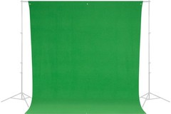 Vermieten: WESCOTT Chromakey/Greenscreen Style 130 3x4m rinclefree