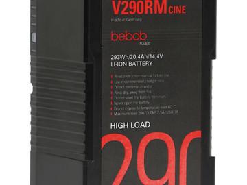 Vermieten: BEBOB V290RM-Cine 290Wh V-lock Battery (2x)