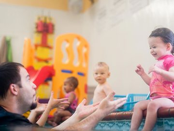 Book & Pay Online (per party package rental): Emler Swim Party (Dallas - Preston Forest Location)