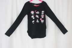 Buy Now: Big girls long sleeve .lace bow high low graphic 24pc @$2Ea