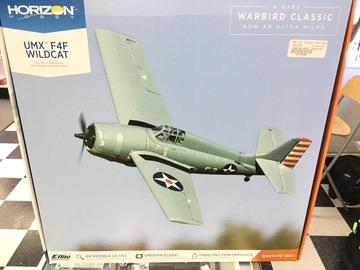 Selling: UMX F4F Wildcat BNF Basic Airplane
