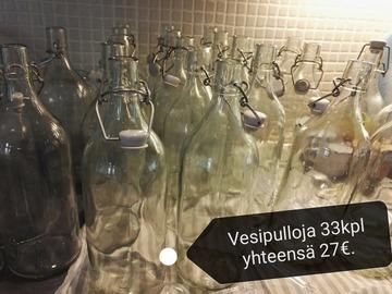 Ilmoitus: Ikean lasipullot
