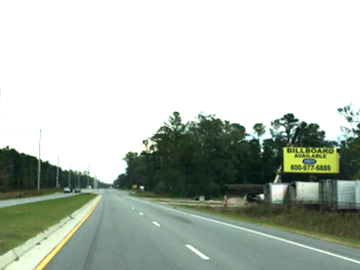 Renting Out: Test Billboard to Rent in GA Savannah 1236 Dean Forest Rd