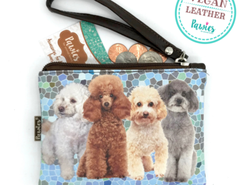 Selling: Poodle Coin Purse